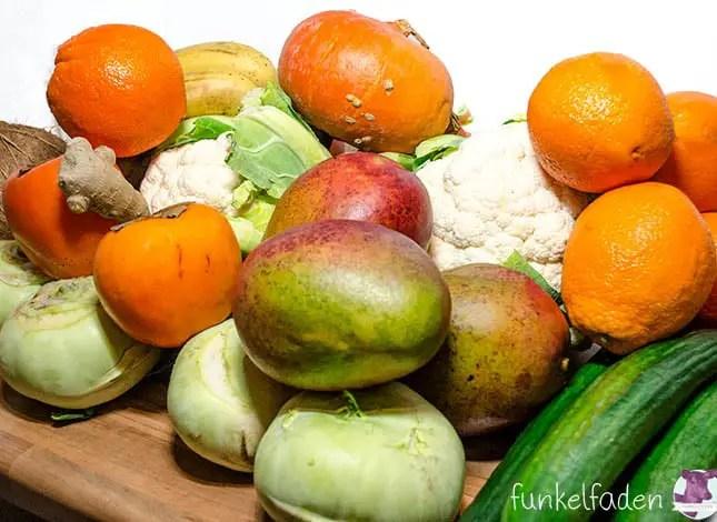 Obst und Gemüse vom Markt am Maybachufer