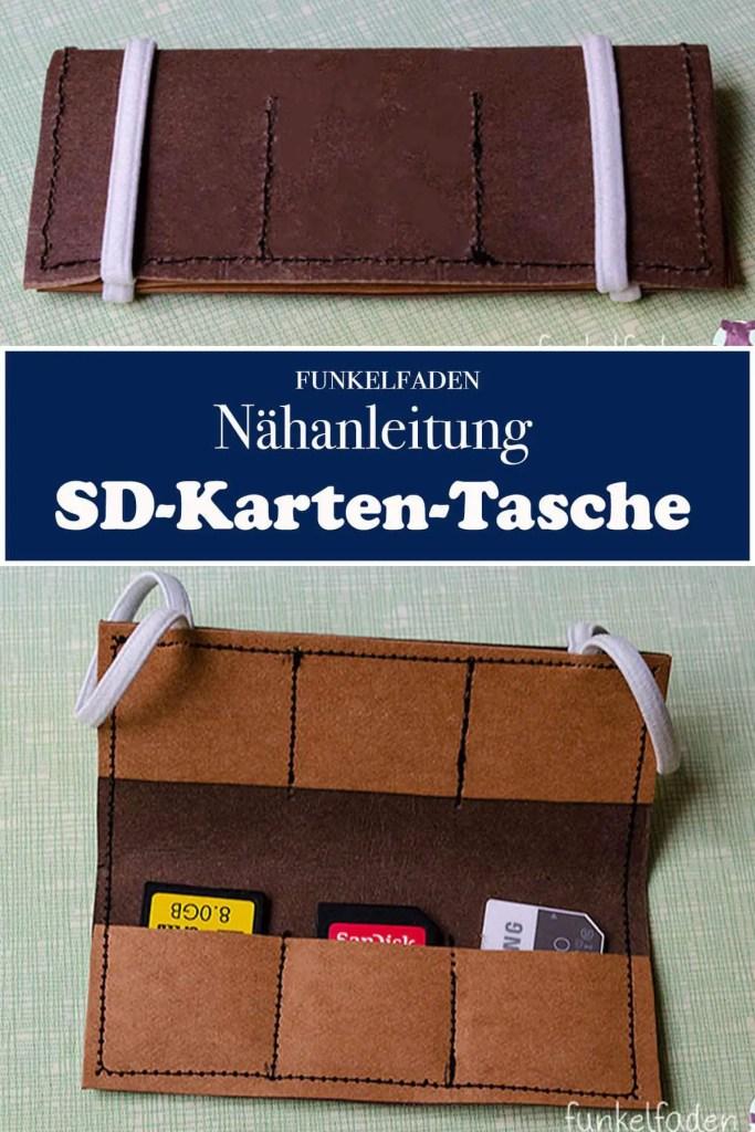 Nähanleitung SD-Karten-Tasche