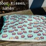Genäht – Beschichtetes Outdoor Kissen