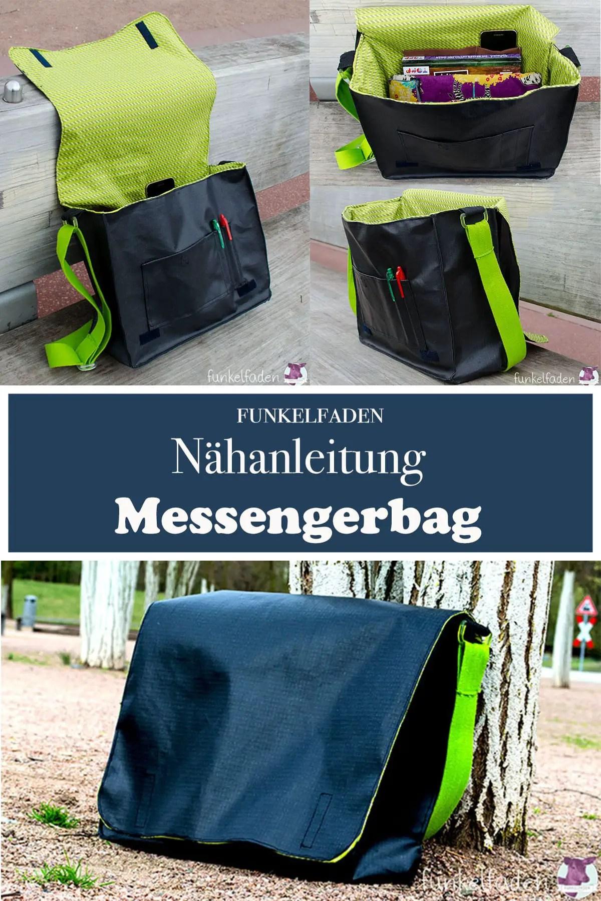 Nähanleitung Messenger Bag