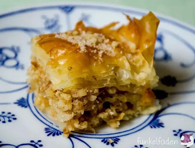 Rezept Baklava mit Wallnüssen