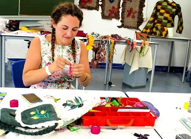 Lederworkshop Textile Art Berlin