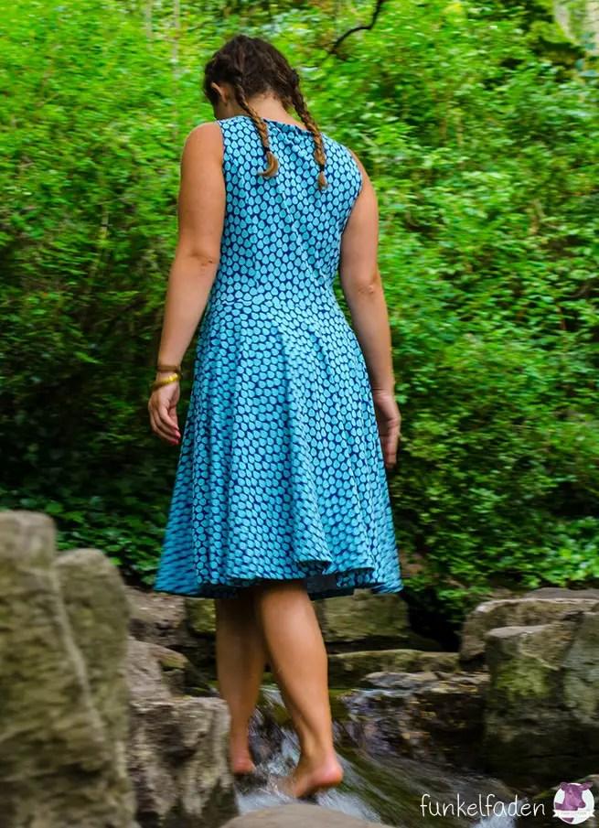 Genäht - Sommerkleid aus Jersey