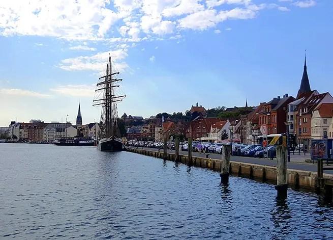 Hafen in Flensburg