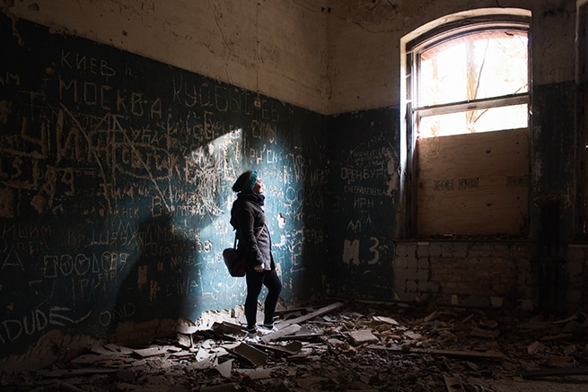 Beelitz Heilstätten Fotoshooting