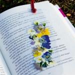 DIY – Blumige Lesezeichen für den Frühling