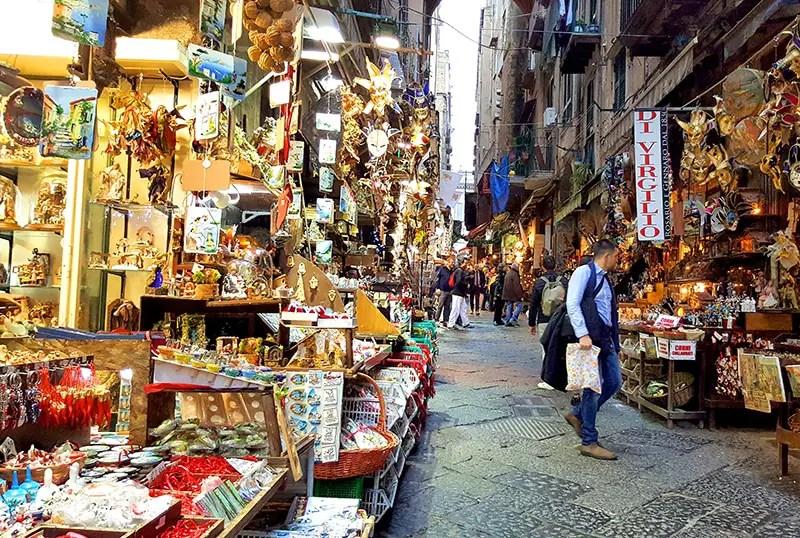 Neapel im Winter 2016