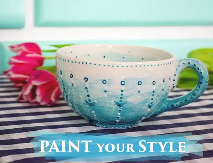Paint your Style Keramik bemalen in Berlin