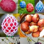 Last Minute Ideen für kunterbunte Ostereier