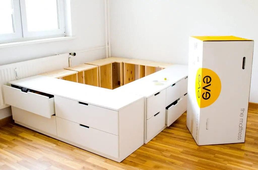Plattform-Bett Selber Bauen Aus Ikea
