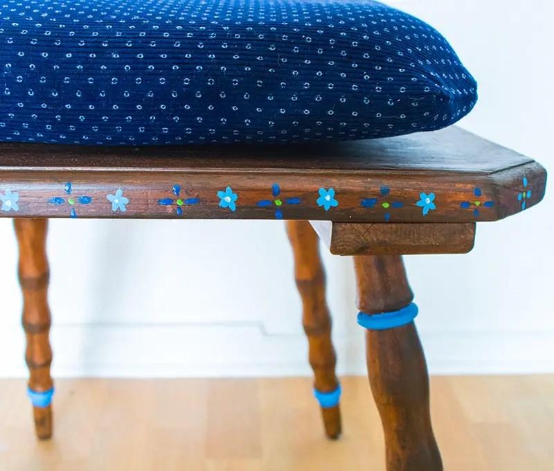 upcycling ein alter bauernstuhl anleitungen do it yourself interior bauernstuhl diy. Black Bedroom Furniture Sets. Home Design Ideas