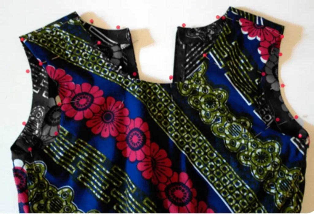 Kleid nähen Freebook mit Nähanleitung für Anfänger