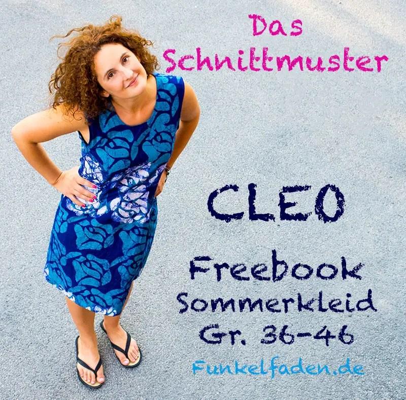 Schnittmuster Freebook Kleid Cleo