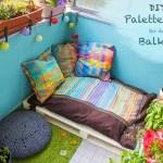 DIY – Palettenbett auf dem Balkon