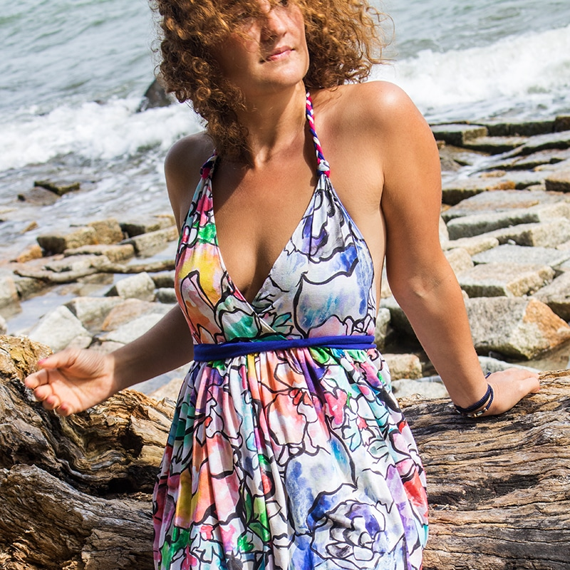 Freebook - Sommerkleid aus Jersey nähen
