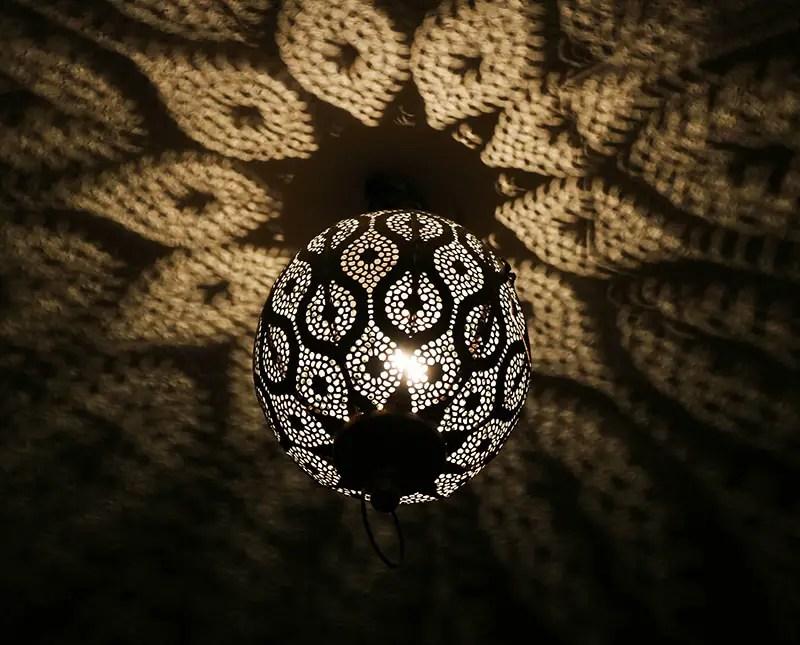 DIY Orientalische Lampe / Upcycling