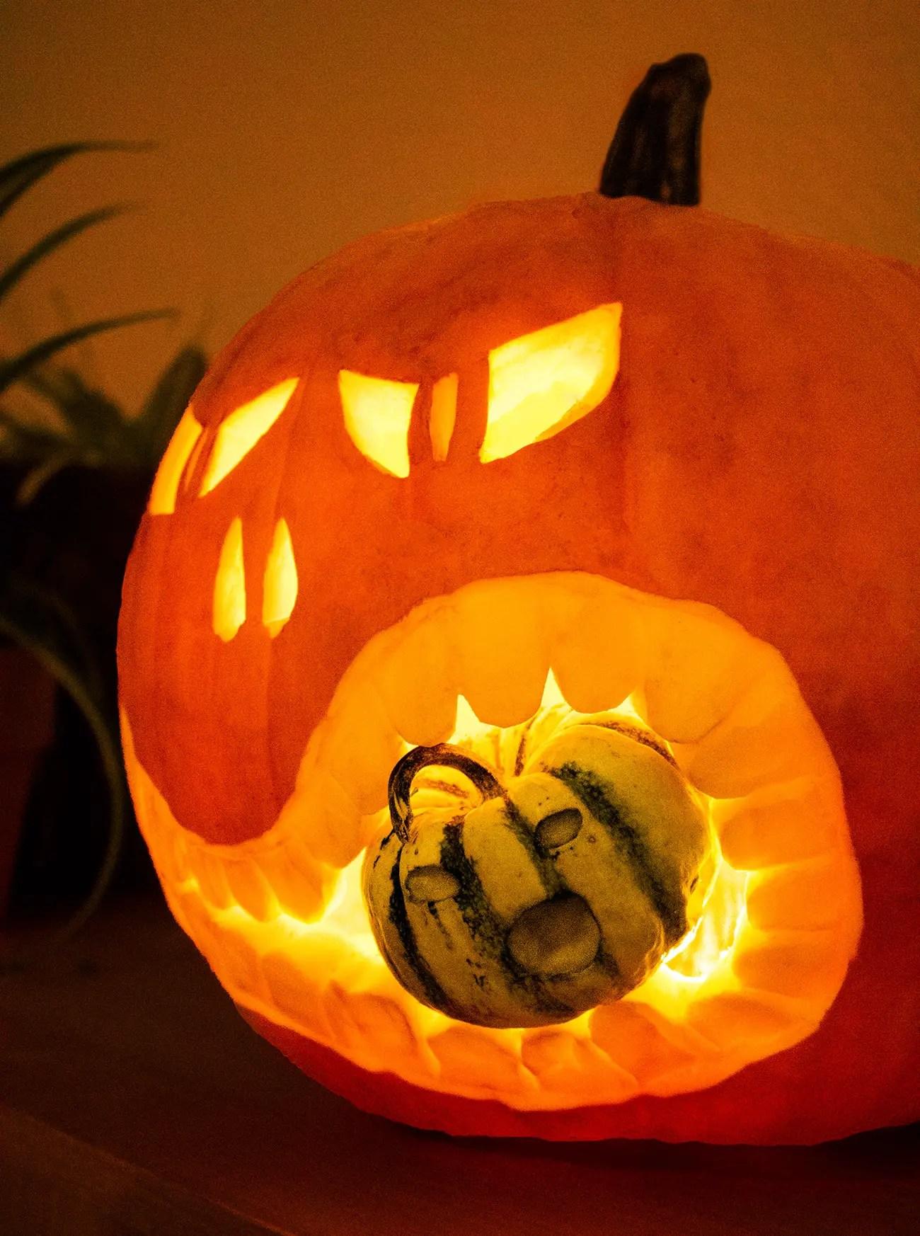 Nett Halloween Kürbis Färbung Seite Fotos - Malvorlagen Von Tieren ...