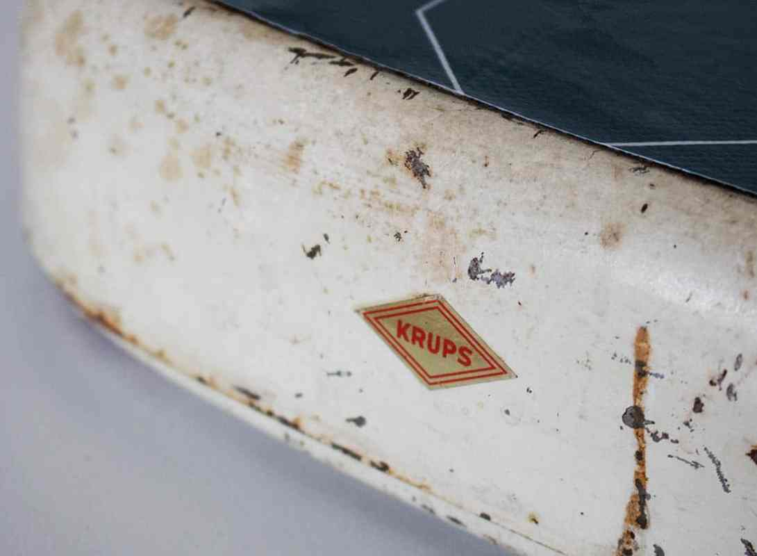 Vintage Waage krups Upcycling