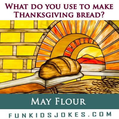 Thanksgiving Bread Joke Meme