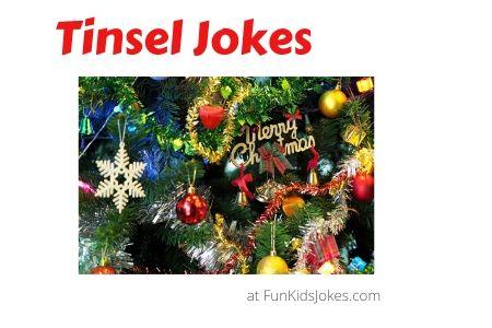Tinsel Jokes for Christmas