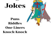 Knight Jokes, Puns, Riddles