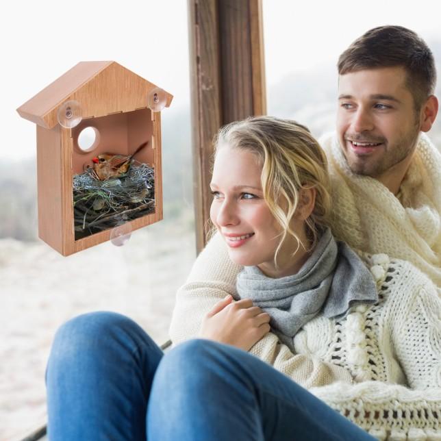 See Through Bird House