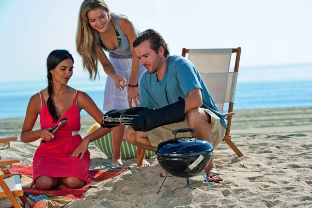 portable grill - outdoorsy gifts