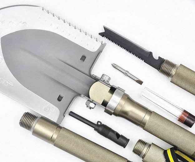 survivalist-multi-tool-shovel- gifts for outdoorsy types