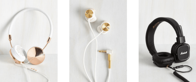 fashionable headphones - gifts for music lovers