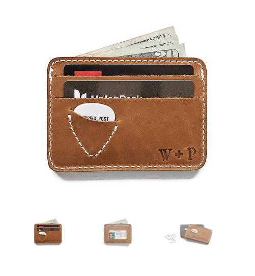 perfect wallet for musicans