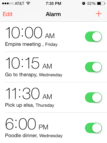anxiety alarms