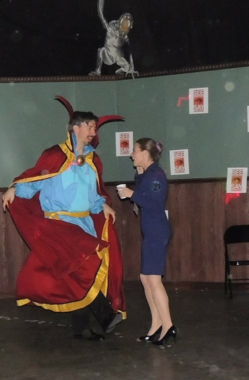 Dancing with Doctor Strange