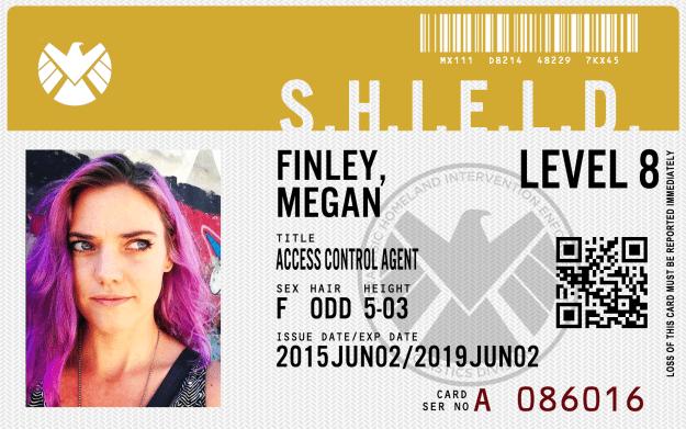 shield agent badge