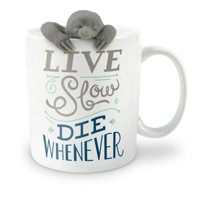 Sloth Gift Set with a mug and a sloth tea infuser!