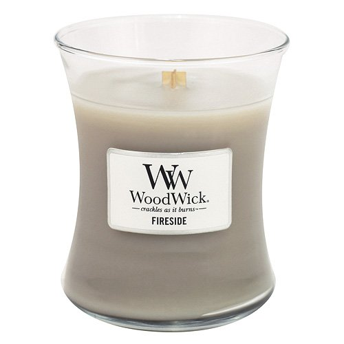 candle that sounds like a fireplace for yankee gift swap