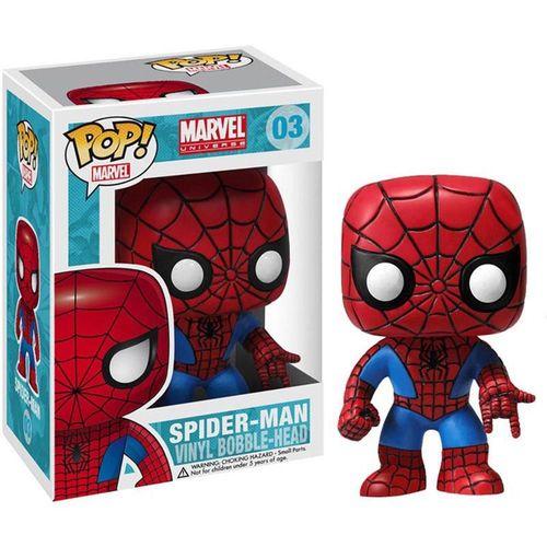 Muñeco Funko Pop de Spiderman en la primera entrega