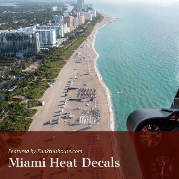 Miami Heat Decals