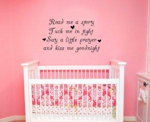 Nursery Rhyme Wall Decal