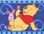 Winnie the Pooh and Piglet Rug
