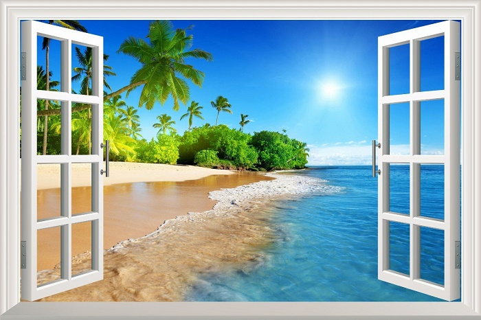 Funku0027N Relaxing Beach Themed Wall Decals Part 59