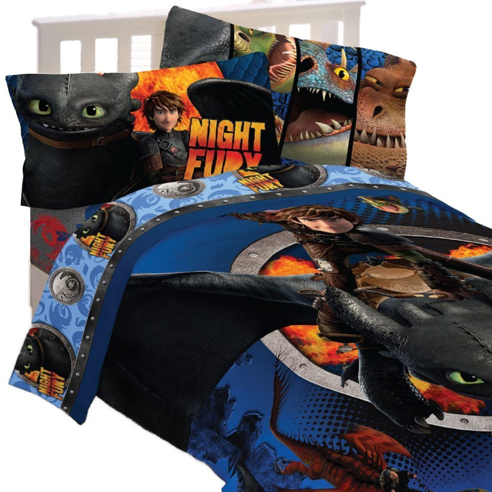 Train Themed Bedroom: How To Train Your Dragon Toy