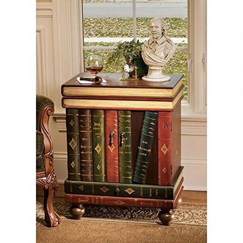 End Tables that Look Like Books