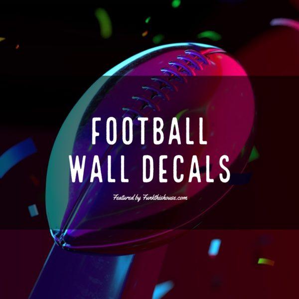 Football Wall Decals