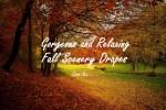Fall Scenery Draperies