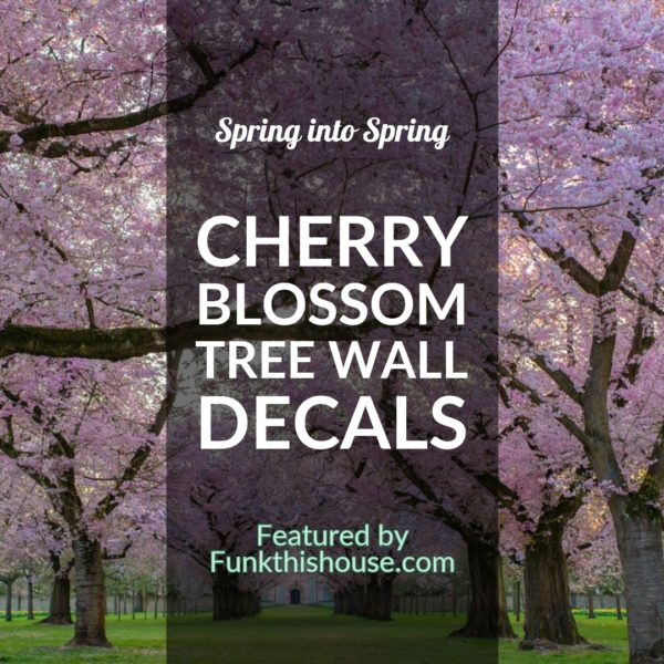 Cherry Blossom Tree Wall Decals