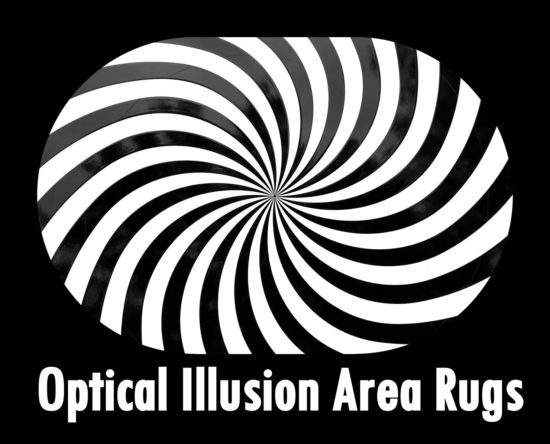 illusion optical rugs area funky funkthishouse