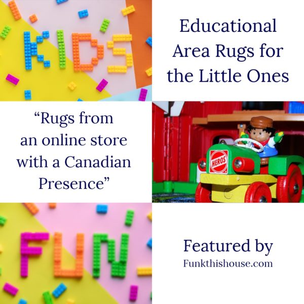Educational Rugs for Kids from a Retailer with a Canadian Presence