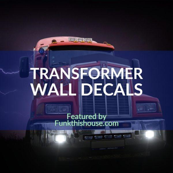 Transformer Wall Decals