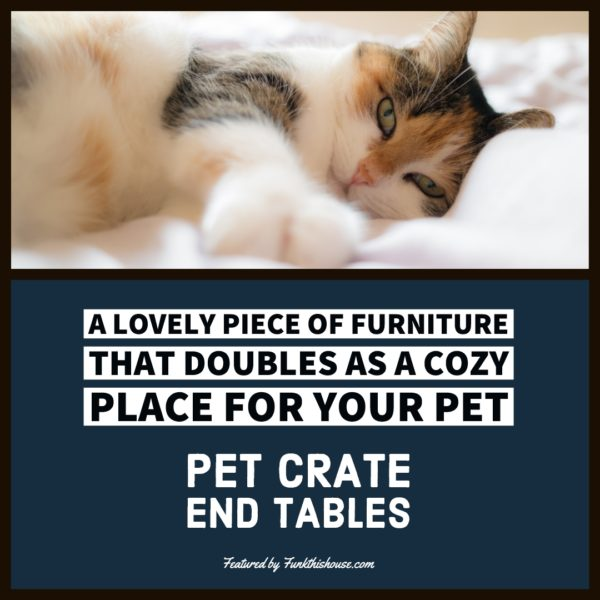 Coffee and End Table Pet Crates