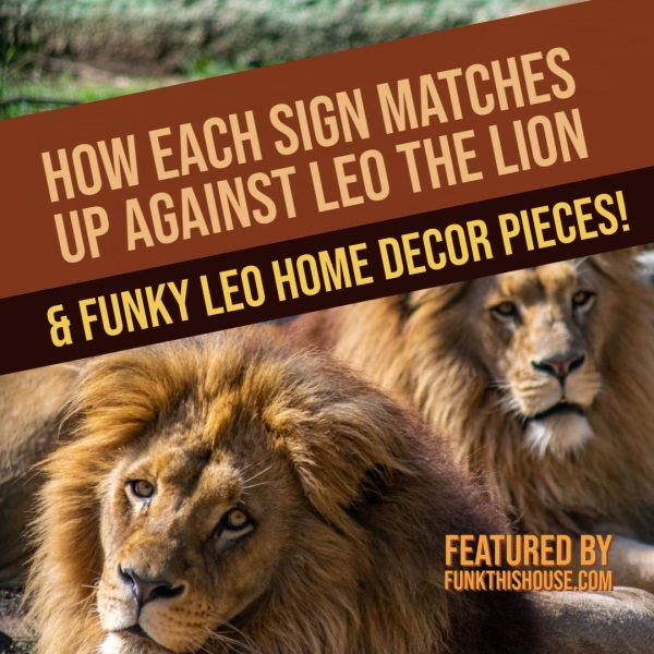 Leo Compatibility and Home Decor Pieces